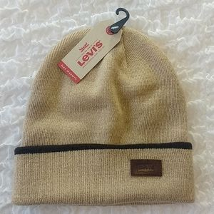 Levi's Max- Warmth Tan Stretch Cap Hat